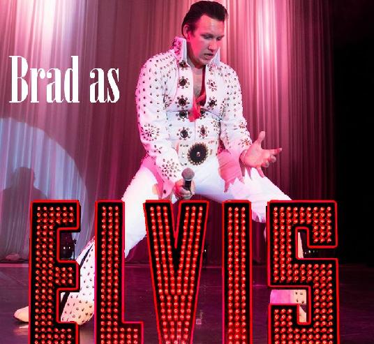 Brad as Elvis